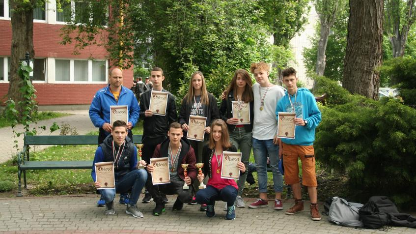 Kollégiumi atlétikai versenyeredmények - Weiss